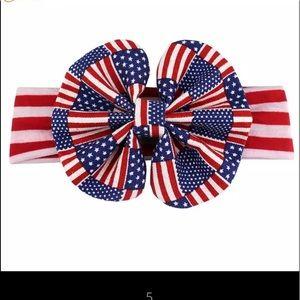 Girls Fourth of July Headband